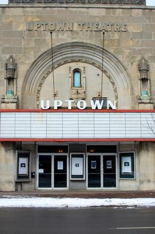 Uptown Theatre Facade